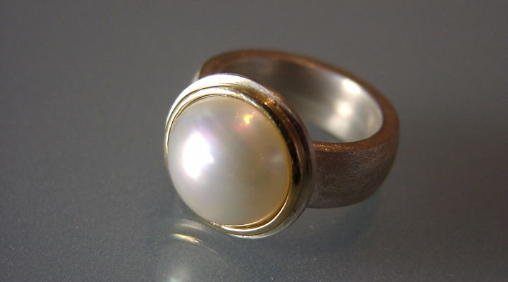 Ring,Mabéperle